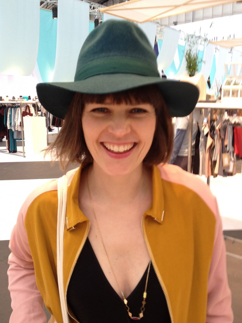 Cynthia Schrijver - doctor fashion - hat Yellow108 - jacket Just Female - jumpsuit Anna Scott - MINT Modefabriek